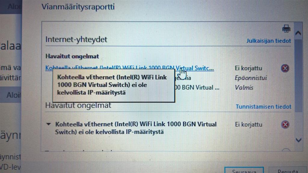 Windows 10 Sähköposti Ongelma