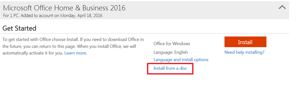 microsoft office 2016 product key not activated