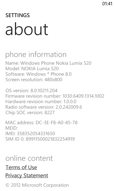 amber update for lumia 520 (India) - Microsoft Community