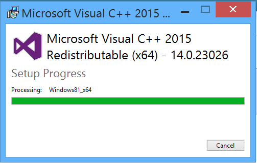 download visual c++ redistributable for visual studio 2019