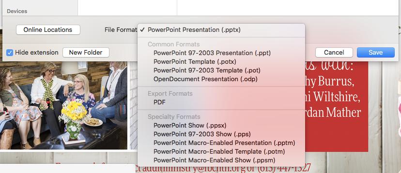 Ppt export option to mp4 microsoft community image toneelgroepblik Image collections