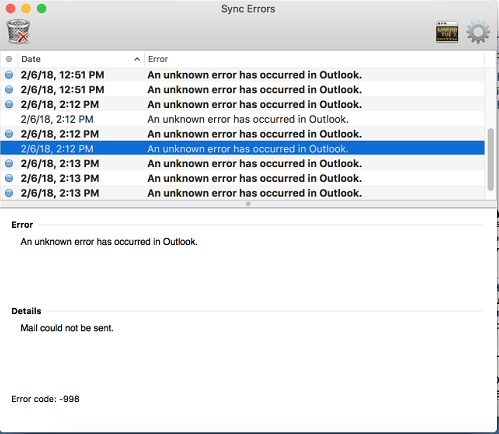 Intermittent Server Disconnects from Outlook for Mac | Does