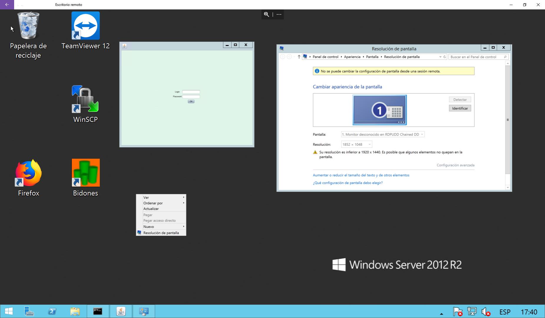 Windows 10 Resolucion Escritorio Remoto Para Acceder A Un