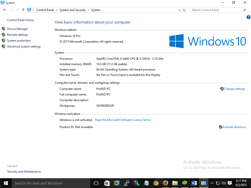 How to: Reinstall or Restore your original Windows Installation
