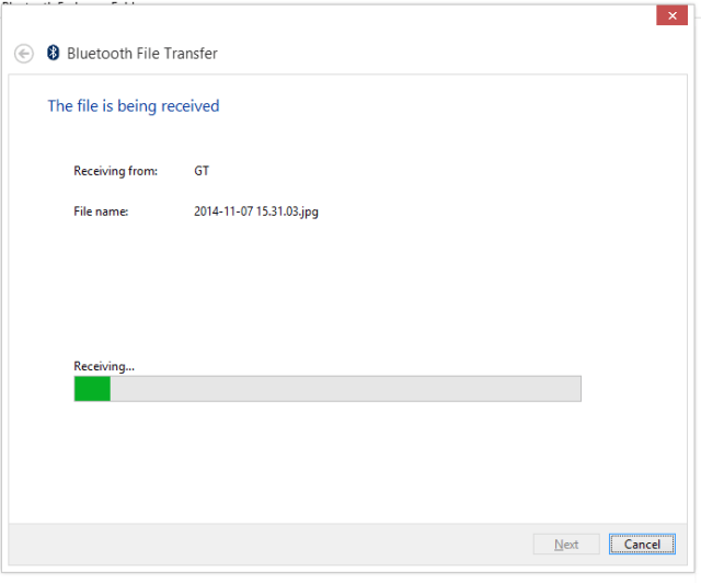 Can't find received Bluetooth files in Windows 10 ...
