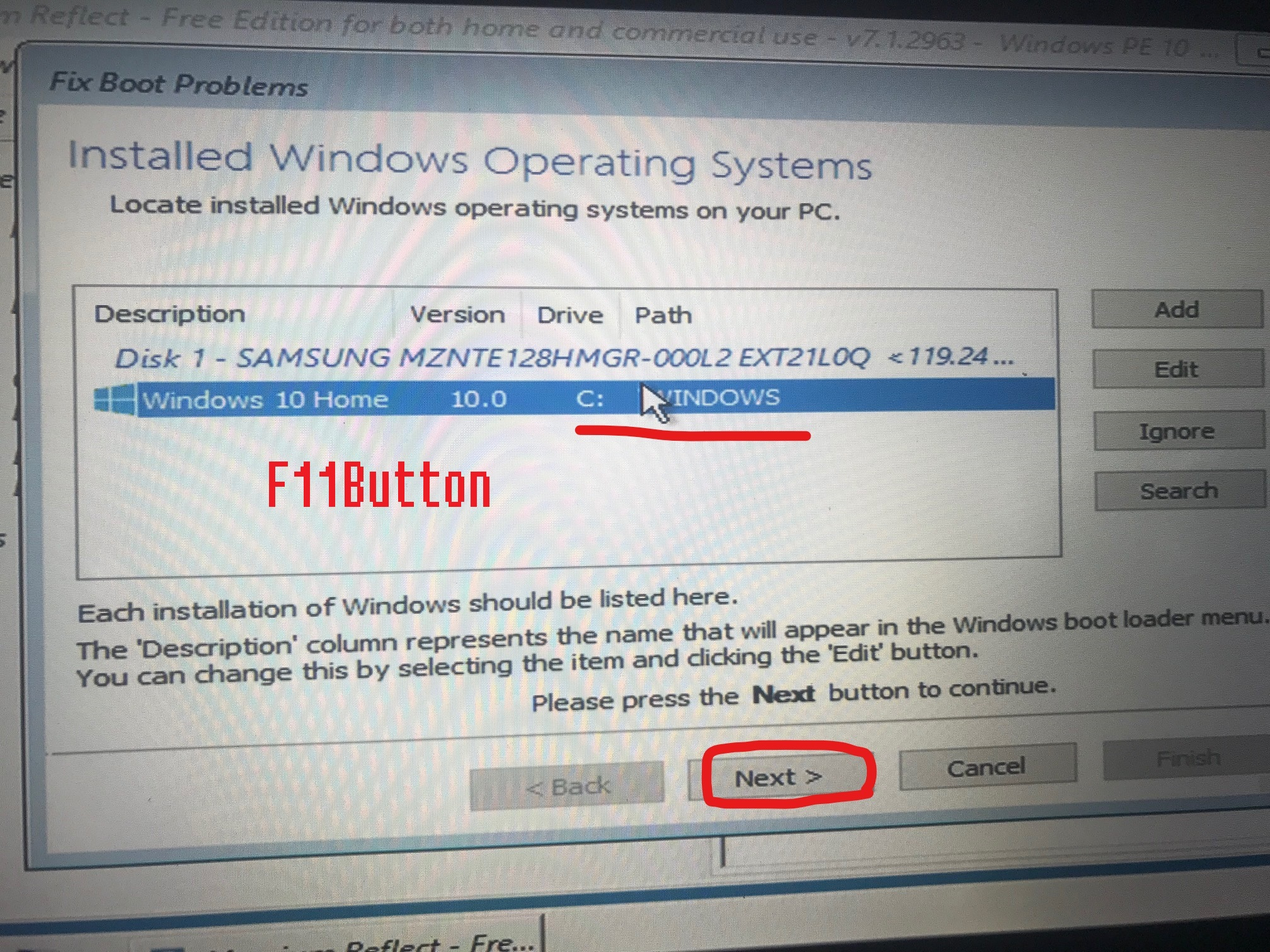 Blue Screen After Changing msconfig boot-settings? Solution
