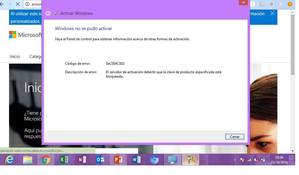 no puedo activar windows 8.1 pro build 9600