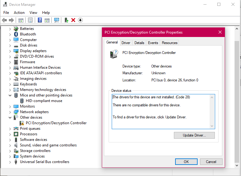 universal serial bus (usb) controller driver windows 7 lenovo g50