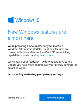 kb4021702 update won't install - Microsoft Community