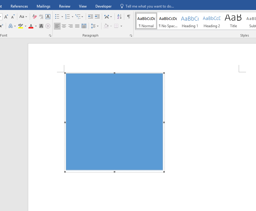 Visio 2016 diagram shaded blue when pasted into word 2016 image ccuart Gallery