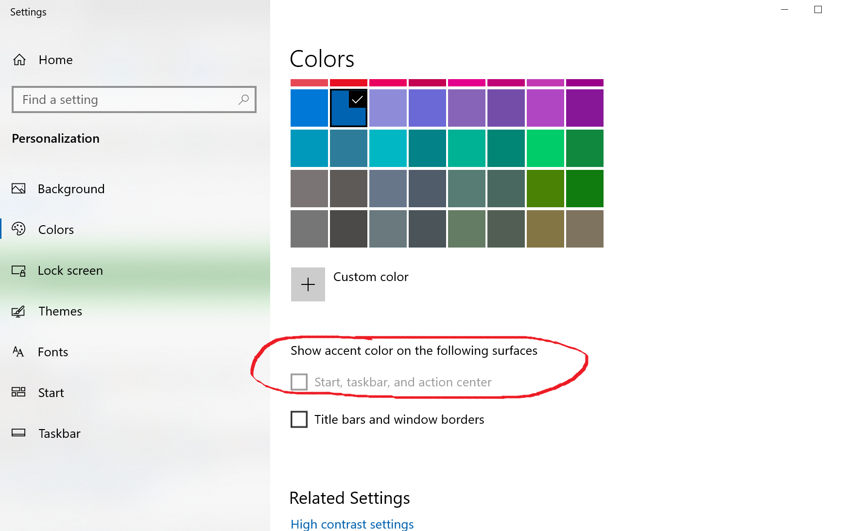 Taskbar changed to white, can't change it back...   Microsoft ...