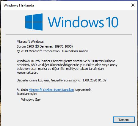 Solved: My frustration is over ! ) Build 18970: - Microsoft