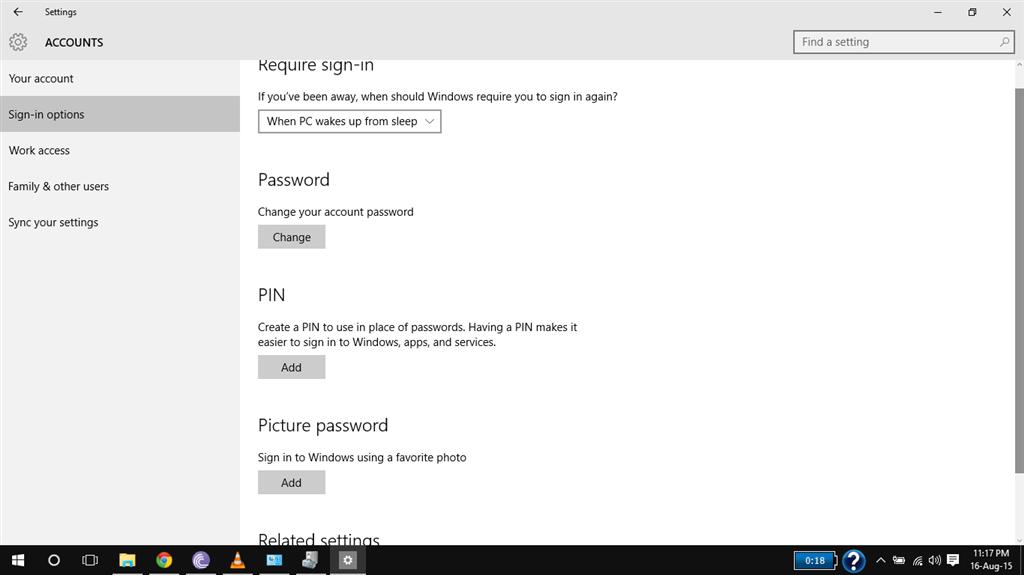 Window 10 hello feature not working finger print scanner laptop hp