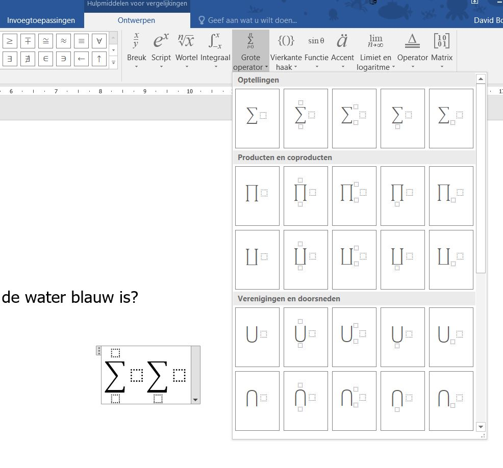 Sigma In Wiskundig Ms Word 2016 Document Microsoft Community