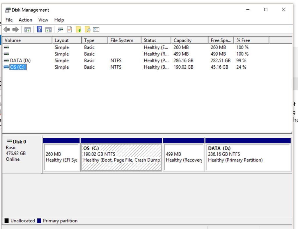 Windows 10 Installation Partition Löschen