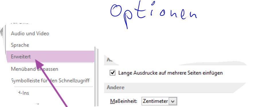 Ein PDF mittels Scanfunktion (Dokument scannen) in OneNote