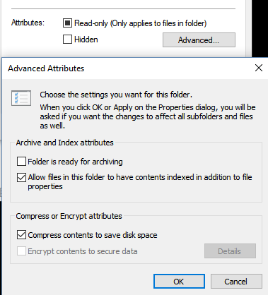 Windows 10 content compression lossy or lossess? - Microsoft