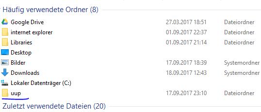 Fehlercode nach Update REDSTONE 4 Build 16362 läßt sich nicht beheben!