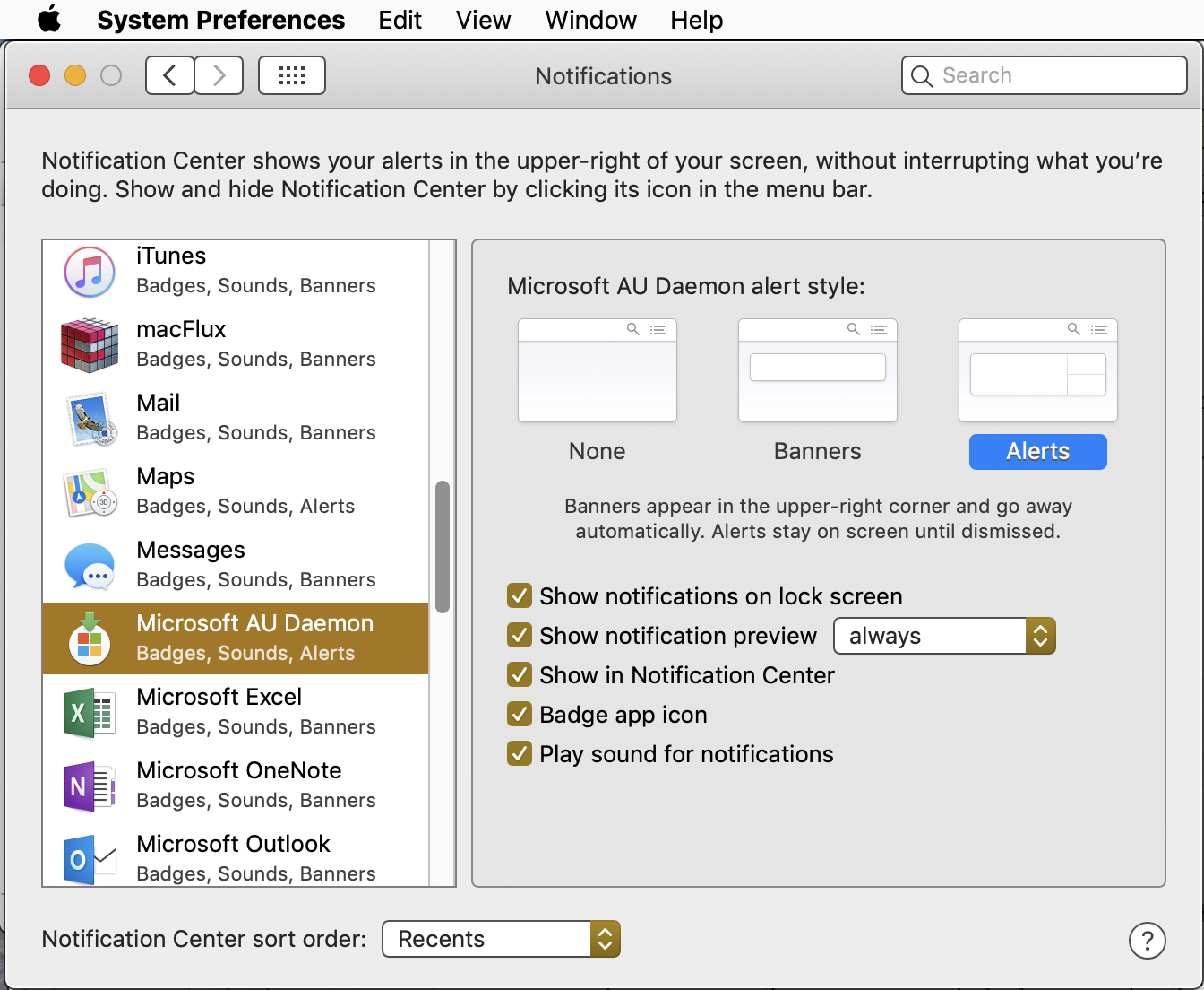 How to stop Office nagging about automatic updates