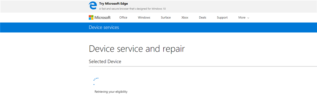 Need Help On Surface Pro Extended Warranty Microsoft Community