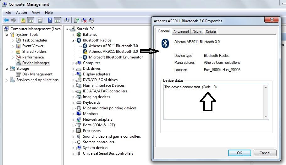 Microsoft stack bluetooth