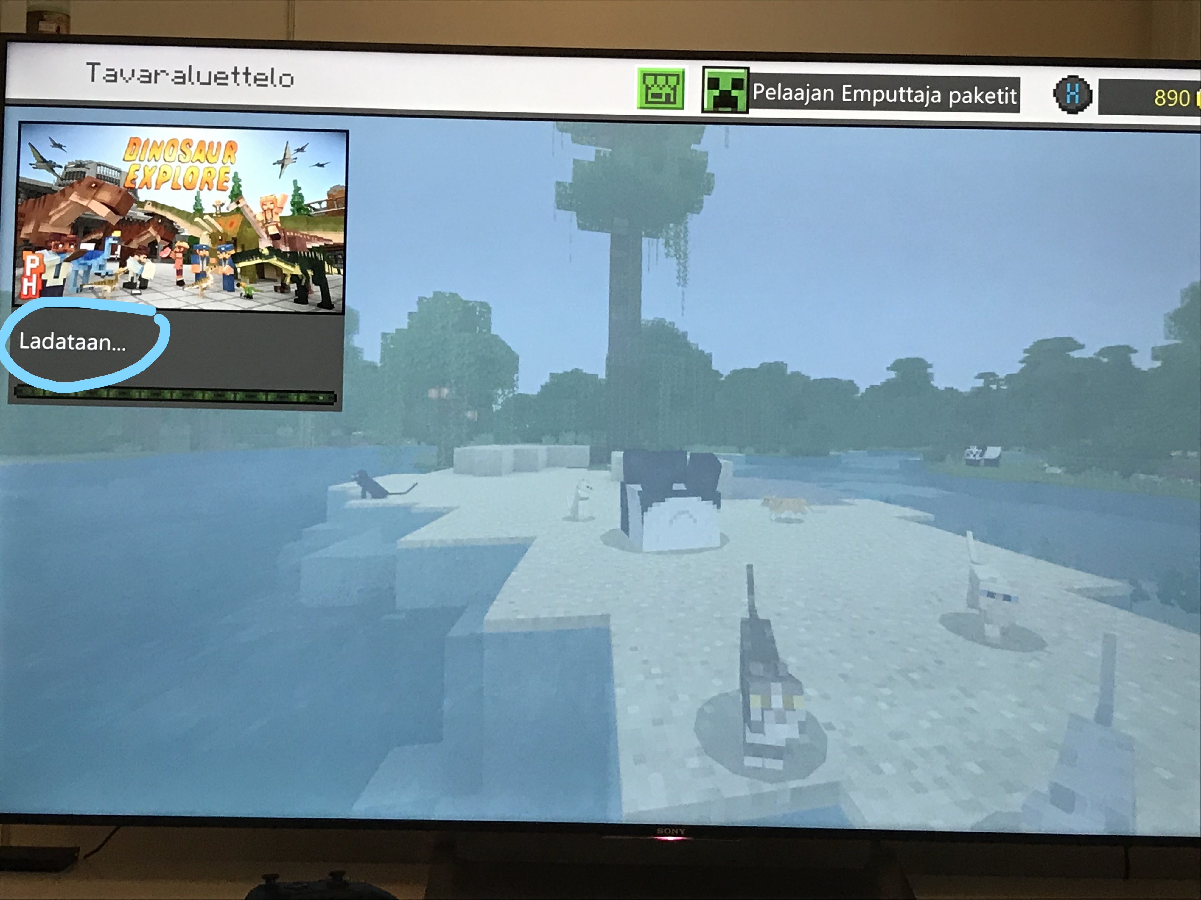 Xbox One X - Minecraft - add-ons stay in status