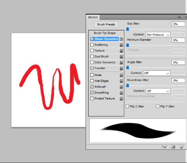 Pen Pressure Sensitivity Not Working in Photoshop CS5 64bit