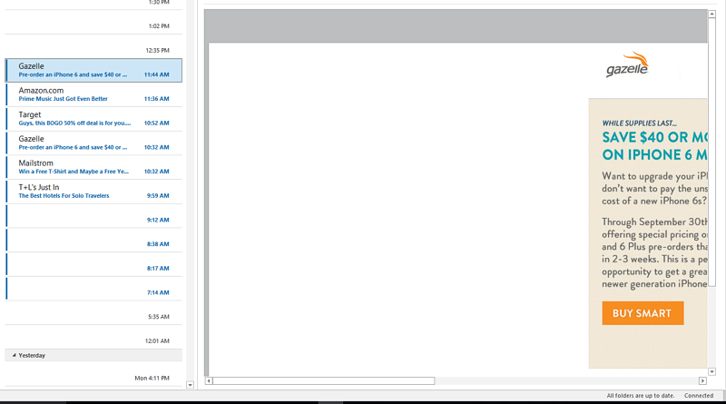 Office 365 Outlook 2016 Does Not Render Html Email Properly
