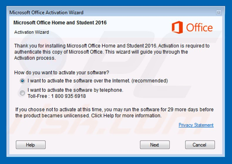 ms office 2007 activation wizard code