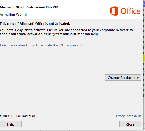Office 2016 Professional Plus - activated or not