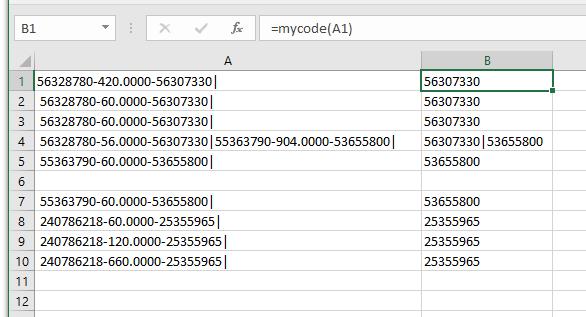 Vba code microsoft community mypoint applicationsheetfunctionnd mytext 1 1 mycode midmytext mypoint 8 mytext applicationsheetfunctionbstitutemytext ibookread ePUb