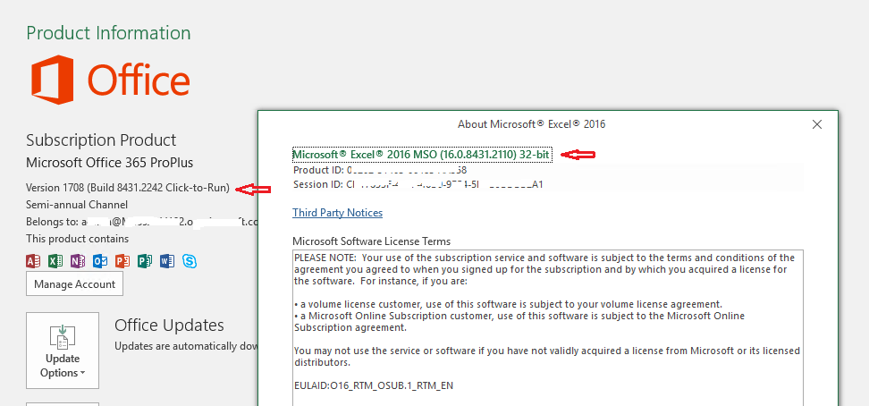 Excel Files are no longer support in Acrobat DC Pro