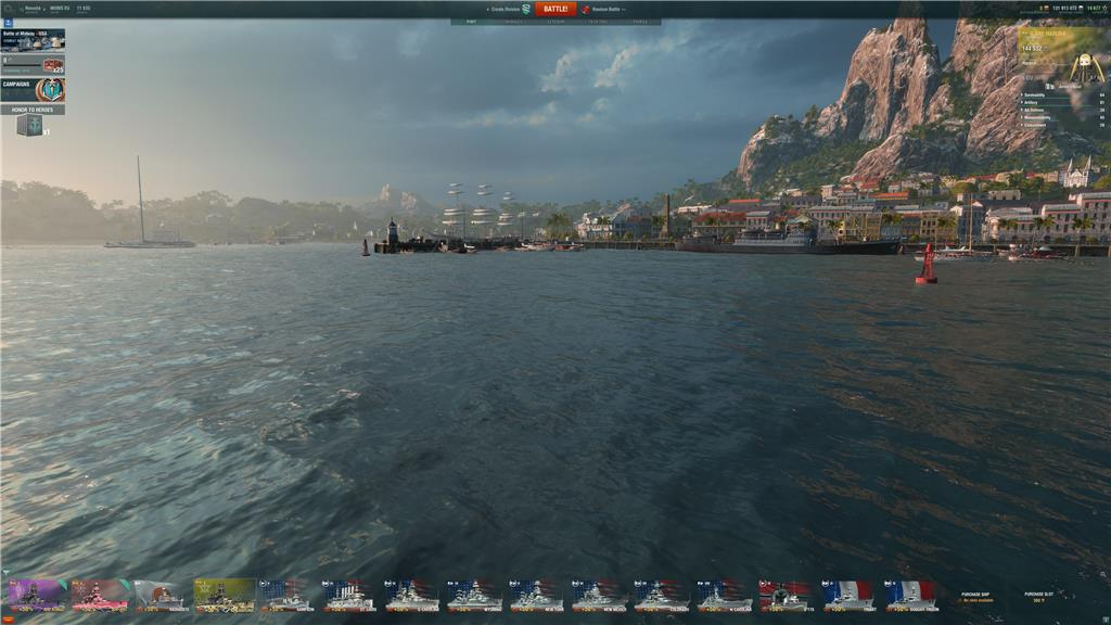World of Warships Does not works / where is the ships