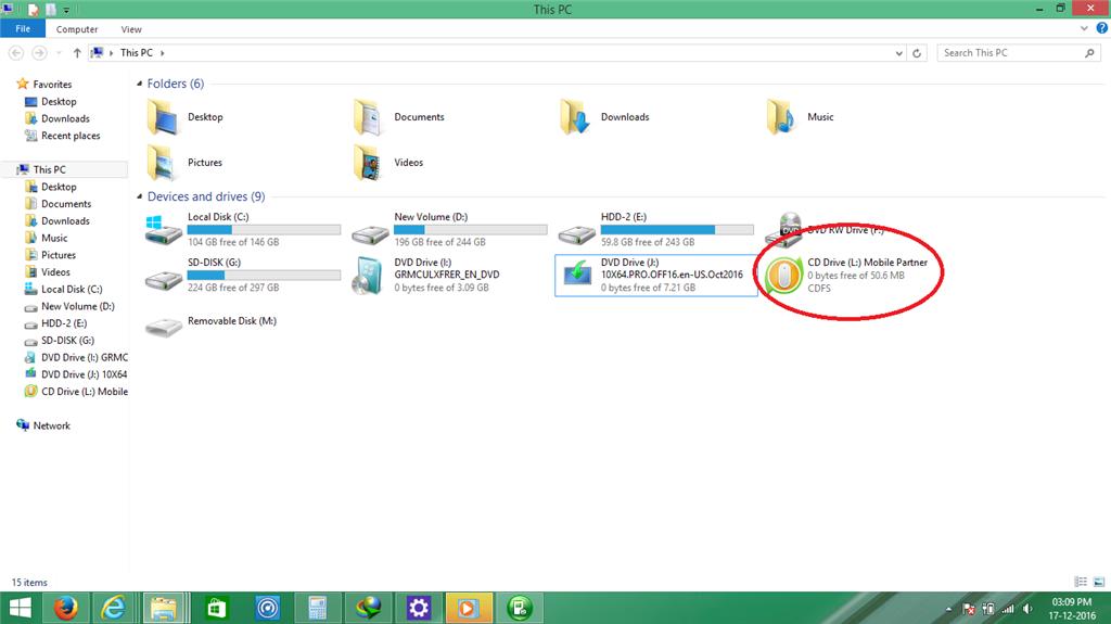 HUAWEI E3531 datacard on windows 8 1 - Microsoft Community