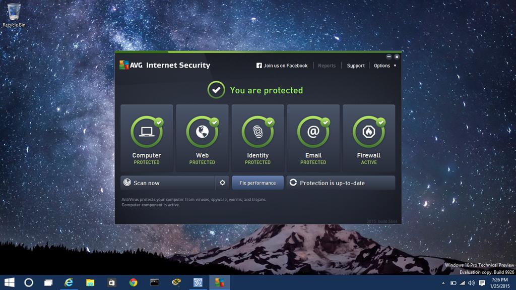 antivirus compatible para windows 10