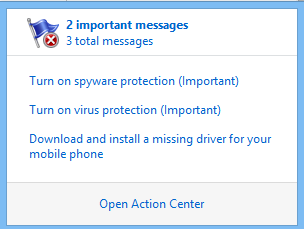 And The Windows Defender Opens Up Fine Its When I Want To View The Quarantined Files Which Irritates Me