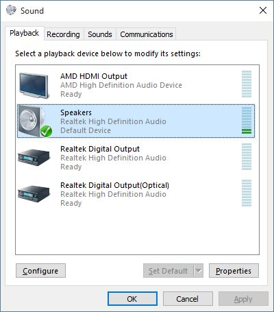 Realtek HD AUDIO Volume Limited / no bass - seems to be