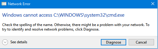 Access denied to system disk - Microsoft Community