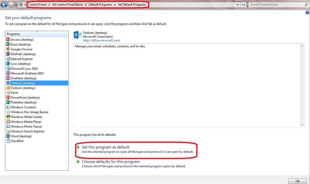 mail (microsoft outlook 2013) (32-bit)