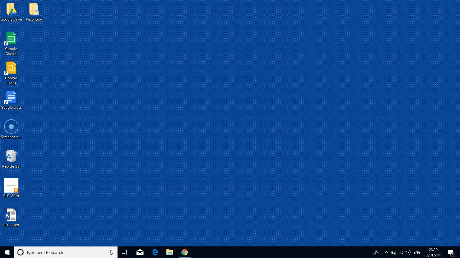 Blue Desktop Background With White Dots Microsoft Community