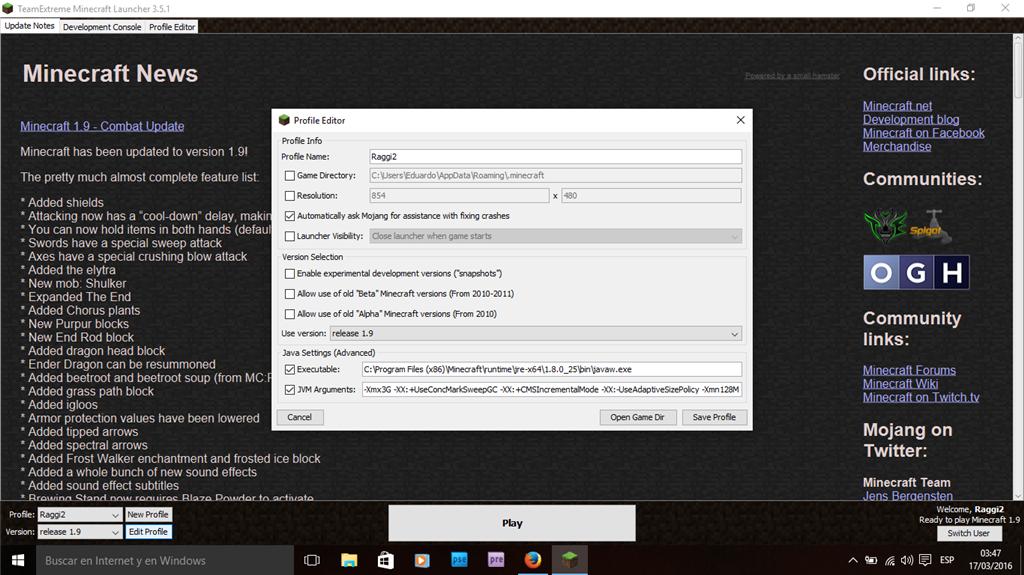 descargar minecraft launcher para canaima con windows 7