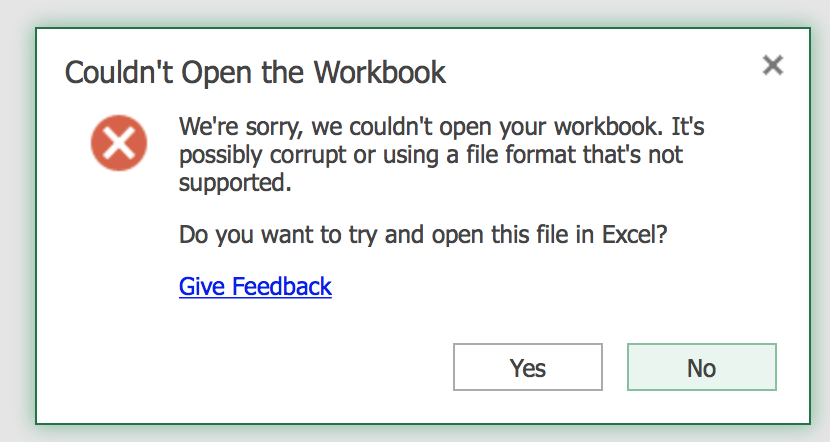 how to open a file in excel online