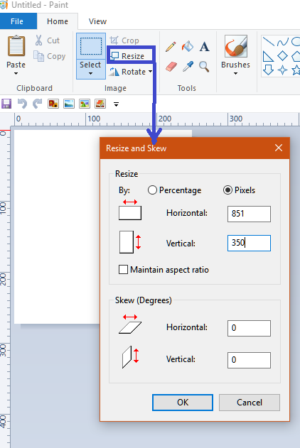 How To Resize Images In Paint D