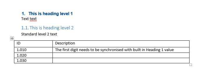 Word 2010 13 New List Level Microsoft Community