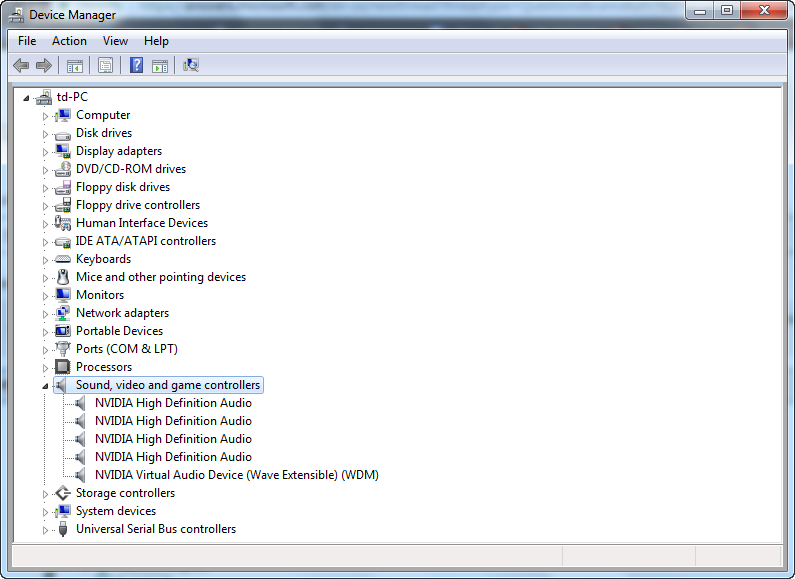 Window 7] No Audio Output Device is installed - Microsoft