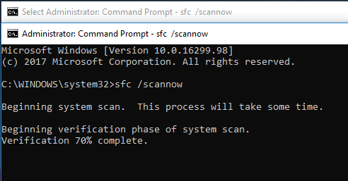 where is command prompt admin in windows 10