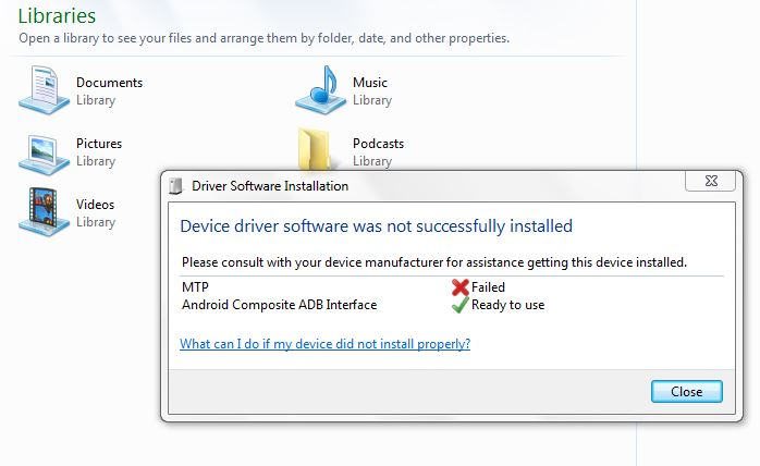 DOWNLOAD DRIVERS: MICROSOFT MTP DEVICE