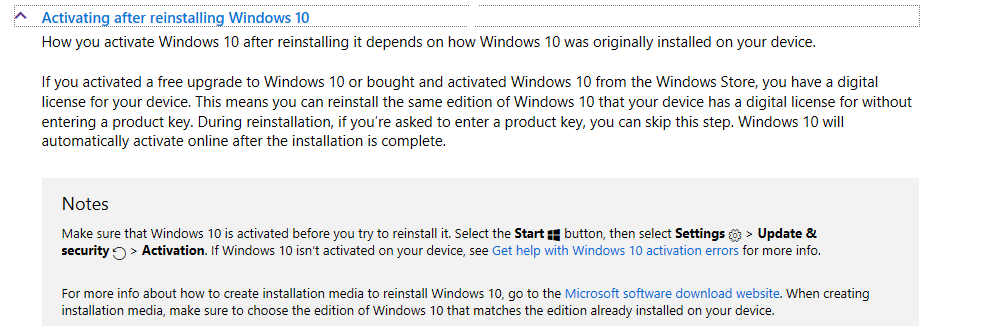 Windows 10 reactivation microsoft community this link will explain how the windows 10 free upgrade works ccuart Choice Image