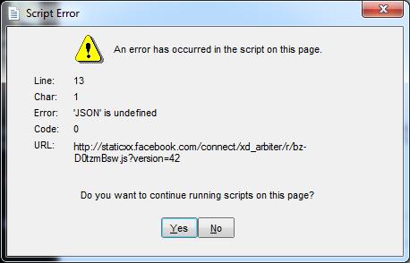 Getting script error problem - Microsoft Community