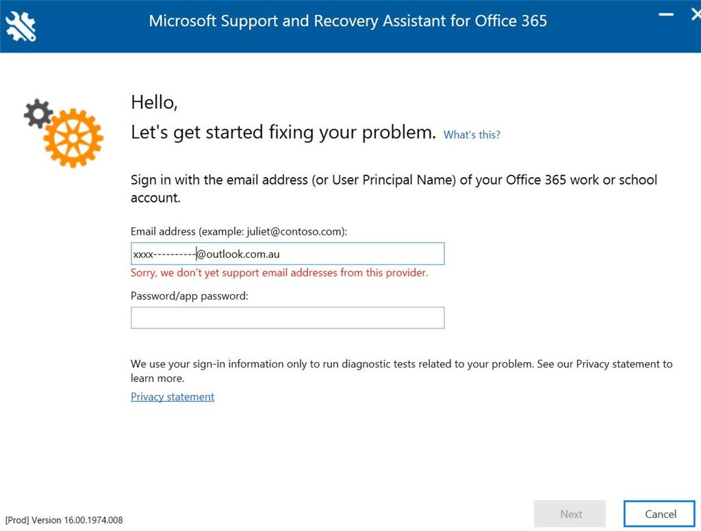 microsoft 365 outlook login